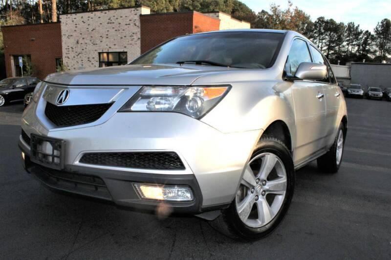 2011 Acura MDX for sale at Atlanta Unique Auto Sales in Norcross GA