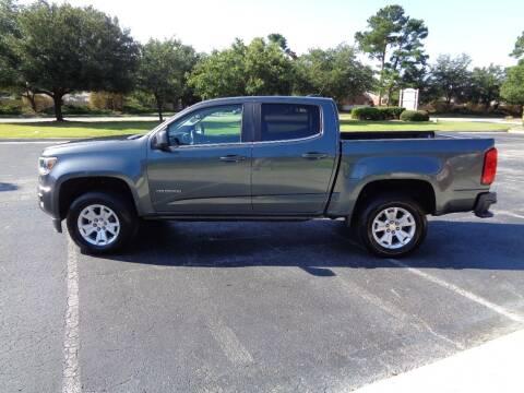 2015 Chevrolet Colorado for sale at BALKCUM AUTO INC in Wilmington NC