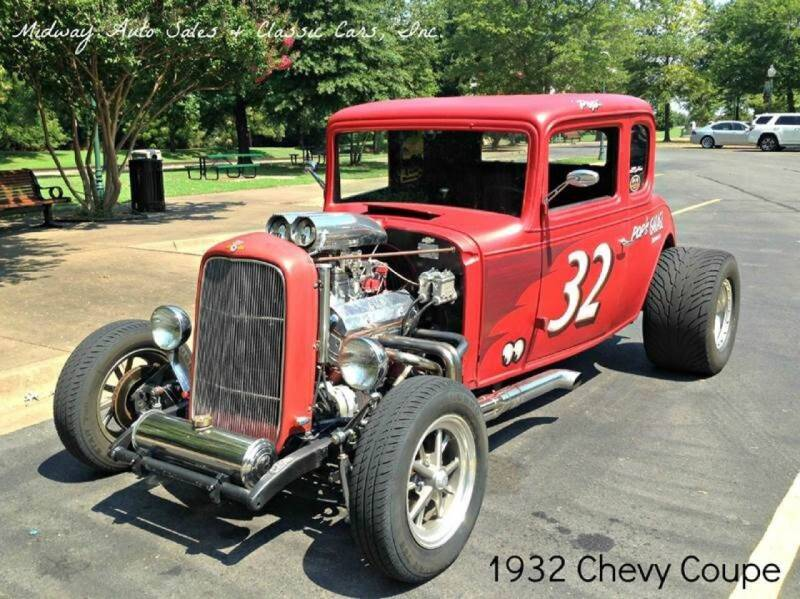 1932 Chevrolet Coupe for sale at MIDWAY AUTO SALES & CLASSIC CARS INC in Fort Smith AR