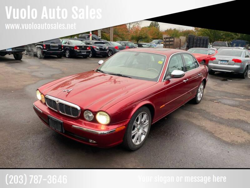 2004 Jaguar XJ-Series for sale at Vuolo Auto Sales in North Haven CT
