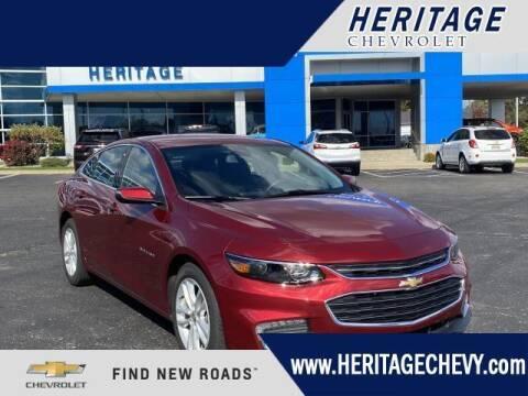 2017 Chevrolet Malibu for sale at HERITAGE CHEVROLET INC in Creek MI