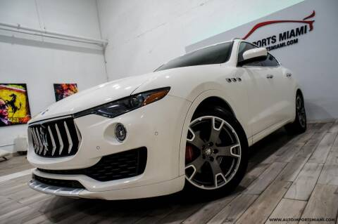 2017 Maserati Levante for sale at AUTO IMPORTS MIAMI in Fort Lauderdale FL