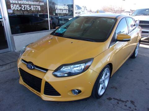 2012 Ford Focus for sale at World Wide Automotive in Sioux Falls SD
