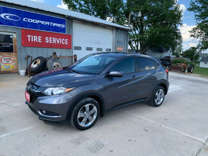 2017 Honda HR-V for sale at GREENFIELD AUTO SALES in Greenfield IA