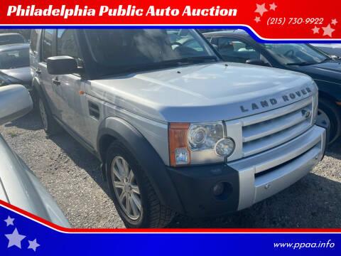 2008 Land Rover LR3 for sale at Philadelphia Public Auto Auction in Philadelphia PA