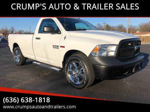 2015 RAM Ram Pickup 1500 for sale at CRUMP'S AUTO & TRAILER SALES in Crystal City MO