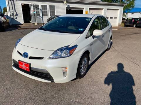 2014 Toyota Prius Plug-in Hybrid for sale at AutoMile Motors in Saco ME