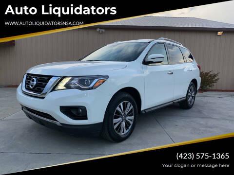 2018 Nissan Pathfinder for sale at Auto Liquidators in Bluff City TN