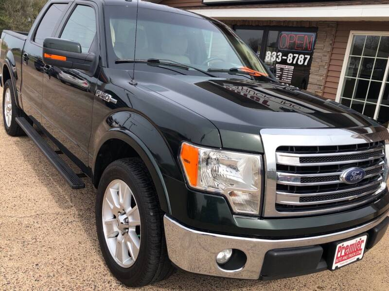 2013 Ford F-150 for sale at Premier Auto & Truck in Chippewa Falls WI