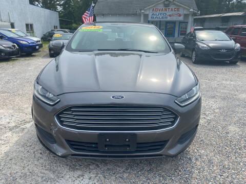 2014 Ford Fusion for sale at Advantage Motors in Newport News VA