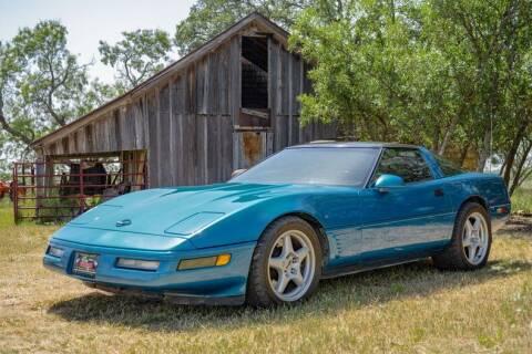 1996 Chevrolet Corvette for sale at STREET DREAMS TEXAS in Fredericksburg TX