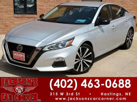 2019 Nissan Altima for sale at Jacksons Car Corner Inc in Hastings NE
