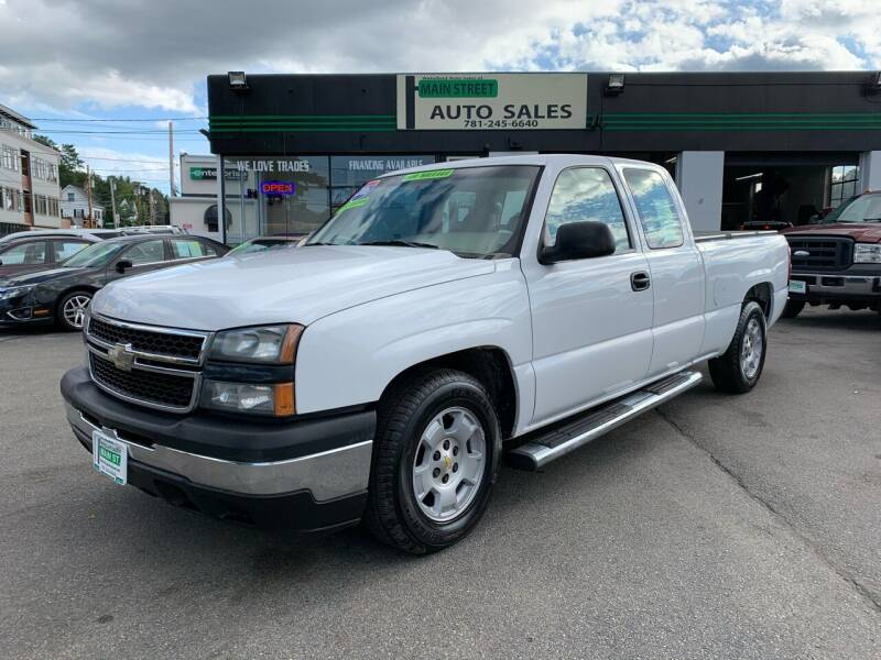 2006 Chevrolet Silverado 1500 for sale at Wakefield Auto Sales of Main Street Inc. in Wakefield MA