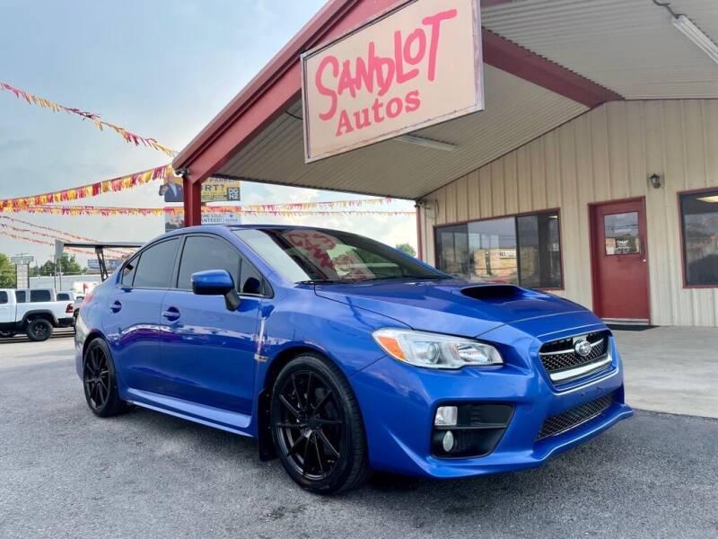2017 Subaru WRX for sale at Sandlot Autos in Tyler TX