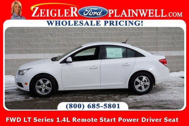 2012 Chevrolet Cruze for sale at Zeigler Ford of Plainwell- Jeff Bishop in Plainwell MI