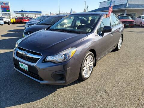 2013 Subaru Impreza for sale at Artistic Auto Group, LLC in Kennewick WA