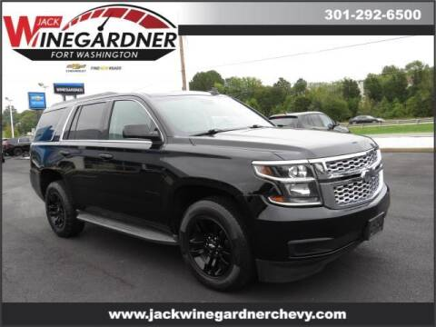 2015 Chevrolet Tahoe for sale at Winegardner Auto Sales in Prince Frederick MD