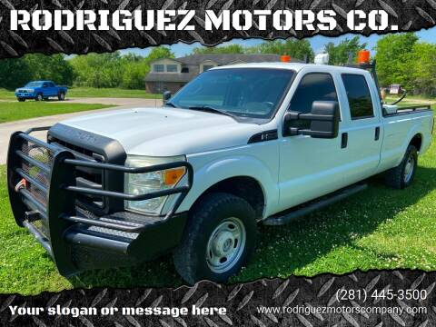 2011 Ford F-250 Super Duty for sale at RODRIGUEZ MOTORS CO. in Houston TX
