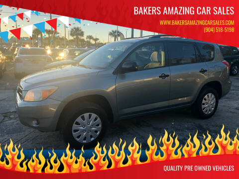 2007 Toyota RAV4 for sale at Bakers Amazing Car Sales in Jacksonville FL