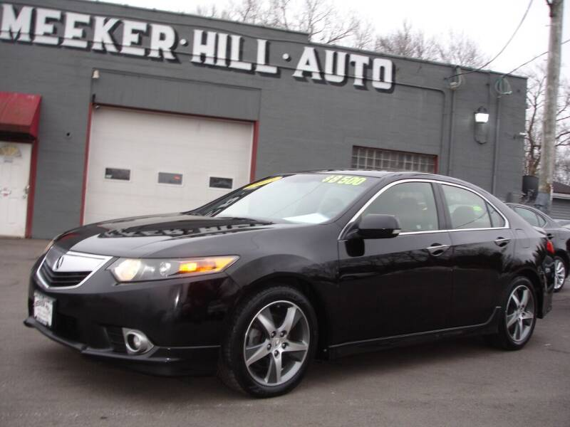 2013 Acura TSX for sale at Meeker Hill Auto Sales in Germantown WI