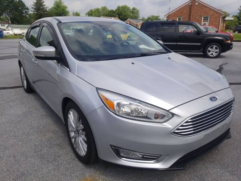2015 Ford Focus for sale at Perry Auto Service & Sales in Shoemakersville PA