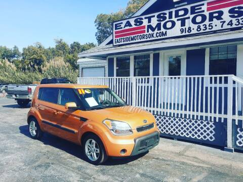2011 Kia Soul for sale at EASTSIDE MOTORS in Tulsa OK