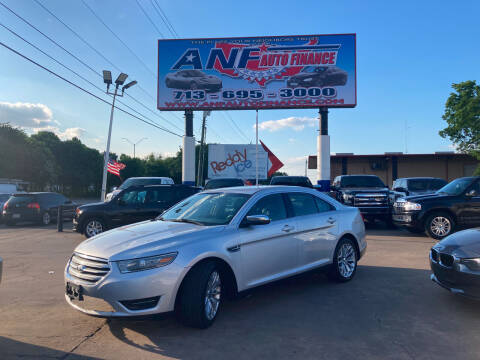 2014 Ford Taurus for sale at ANF AUTO FINANCE in Houston TX