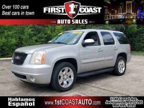 2007 GMC Yukon for sale at 1st Coast Auto -Cassat Avenue in Jacksonville FL