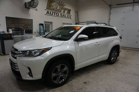 2017 Toyota Highlander for sale at Elite Auto Sales in Idaho Falls ID
