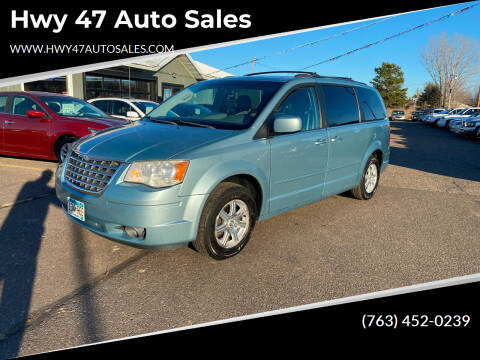 2008 Chrysler Town and Country for sale at Hwy 47 Auto Sales in Saint Francis MN