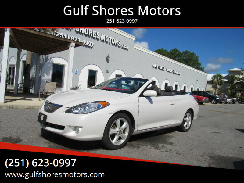 2004 Toyota Camry Solara for sale at Gulf Shores Motors in Gulf Shores AL