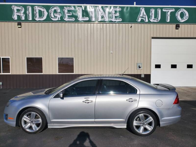 2010 Ford Fusion for sale at RIDGELINE AUTO in Chubbuck ID