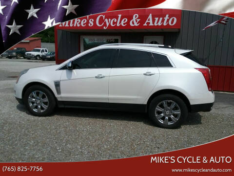 2015 Cadillac SRX for sale at MIKE'S CYCLE & AUTO in Connersville IN