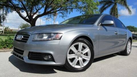 2010 Audi A4 for sale at DS Motors in Boca Raton FL
