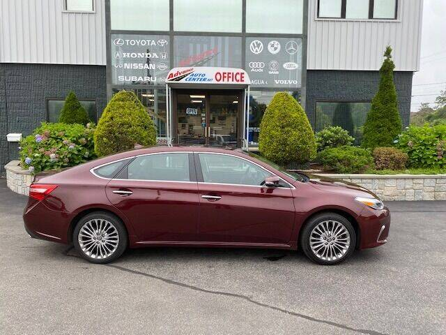 2018 Toyota Avalon for sale at Advance Auto Center in Rockland MA