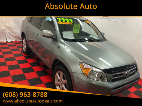 2008 Toyota RAV4 for sale at Absolute Auto in Baraboo WI