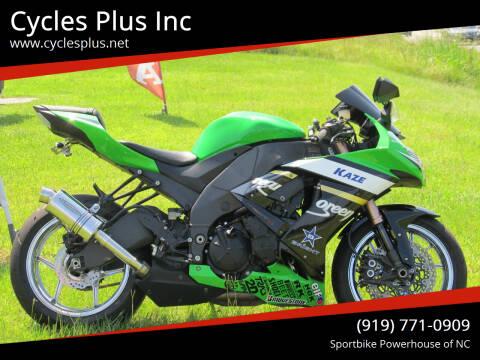 2009 Kawasaki Ninja ZX-10R for sale at Cycles Plus Inc in Garner NC