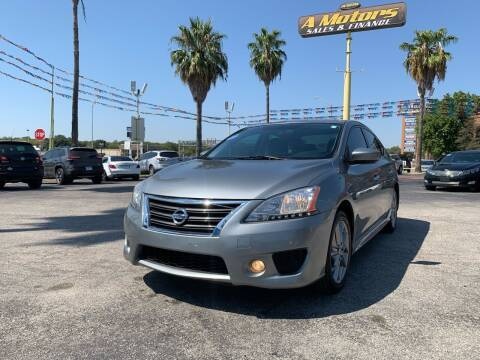 2013 Nissan Sentra for sale at A MOTORS SALES AND FINANCE in San Antonio TX