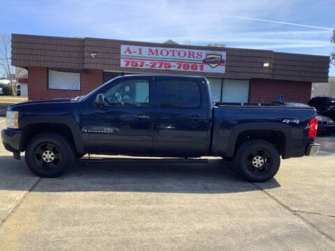 2008 Chevrolet Silverado 1500 for sale at A-1 Motors in Virginia Beach VA
