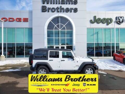 2018 Jeep Wrangler JK Unlimited for sale at Williams Brothers - Pre-Owned Monroe in Monroe MI