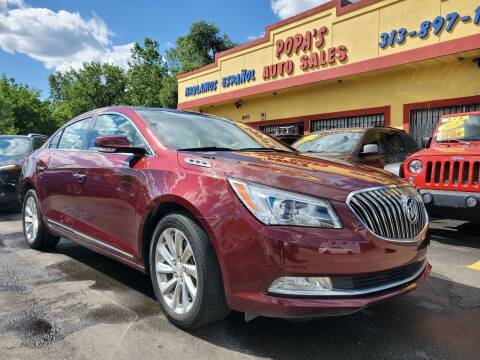 2016 Buick LaCrosse for sale at Popas Auto Sales in Detroit MI