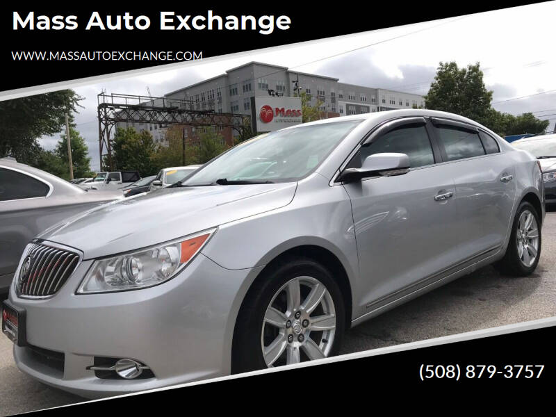 2013 Buick LaCrosse for sale at Mass Auto Exchange in Framingham MA