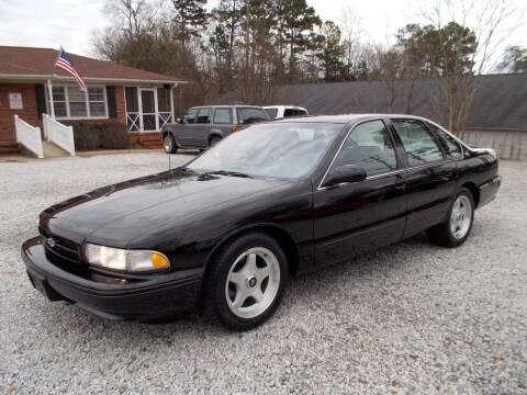 1996 Chevrolet Impala for sale at Carolina Auto Connection & Motorsports in Spartanburg SC