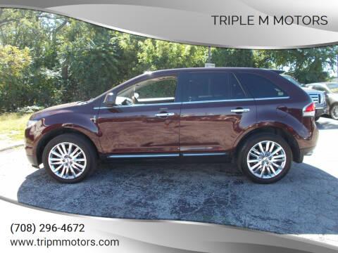 2011 Lincoln MKX for sale at Triple M Motors in Saint John IN