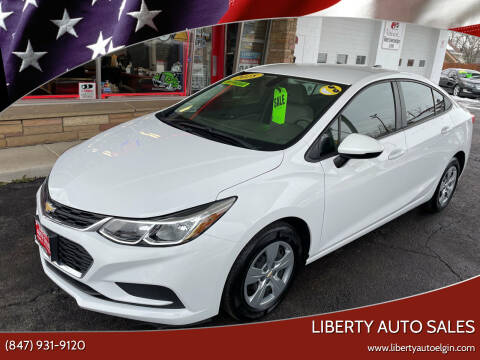 2018 Chevrolet Cruze for sale at Liberty Auto Sales in Elgin IL