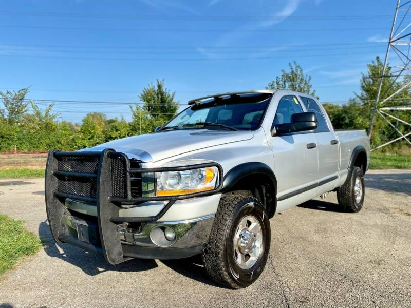 2006 Dodge Ram Pickup 2500 for sale at Siglers Auto Center in Skokie IL