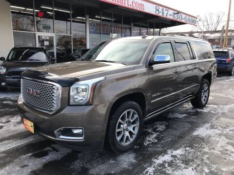 2015 GMC Yukon XL for sale at EL SOL AUTO MART in Franklin Park IL