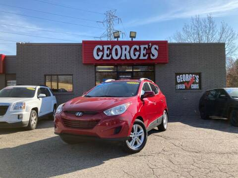 2011 Hyundai Tucson for sale at George's Used Cars - Telegraph in Brownstown MI
