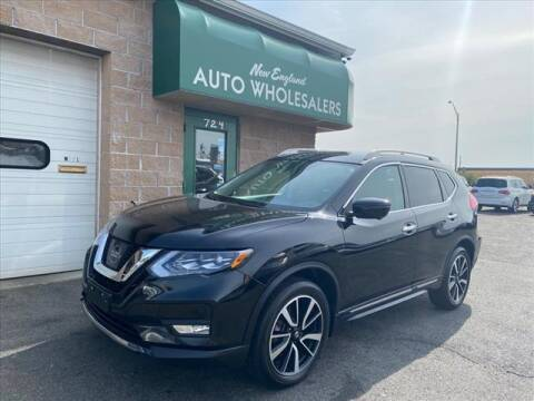 2017 Nissan Rogue for sale at New England Wholesalers in Springfield MA