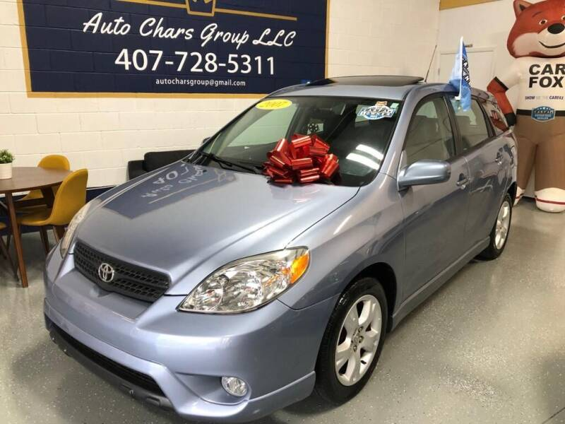2007 Toyota Matrix for sale at Auto Chars Group LLC in Orlando FL
